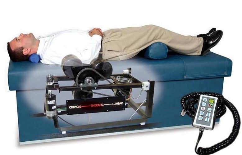 Mechanical Traction - Patient on table